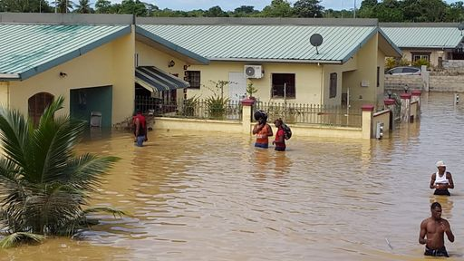 Unconfirmed reports of flood deaths in Greenville - Trinidad