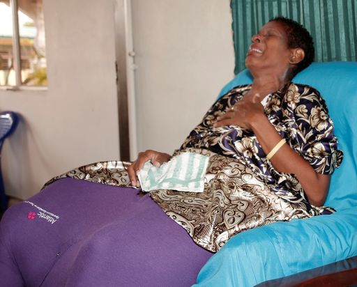 Woman with 200-pound tumour faces eviction - Trinidad Guardian