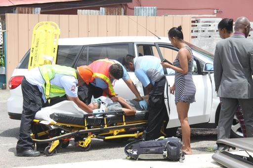Boy, 2, escapes serious injury in car crash - Trinidad Guardian