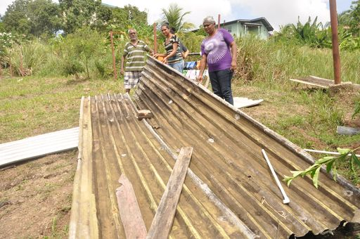 Helicopter ripped off our roof' - Trinidad Guardian