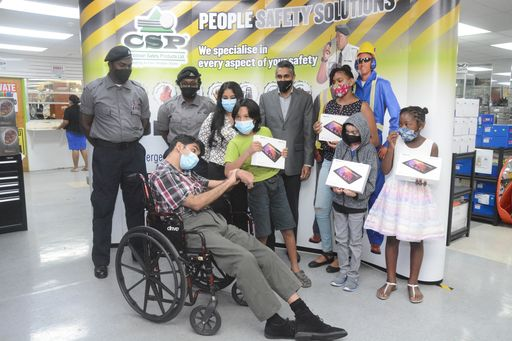 Disabled Businessman Donates Devices For Online Learning Trinidad Guardian